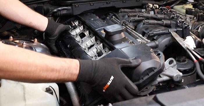 Wie BMW 3 SERIES 318i 1.8 1994 Ventildeckeldichtung ausbauen - Einfach zu verstehende Anleitungen online
