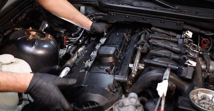 BMW 3 SERIES 320i 2.0 Ventildeckeldichtung ausbauen: Anweisungen und Video-Tutorials online