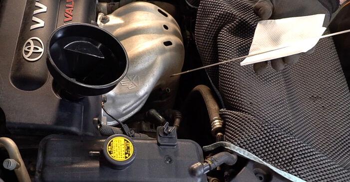 Hvordan skifte TOYOTA RAV4 2012 Oljefilter trinn–for–trinn veiledning