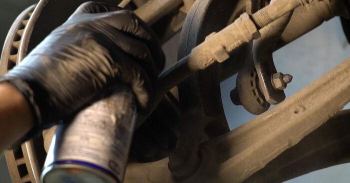 Kaip pakeisti Amortizatorius la Audi A4 B8 Sedanas 2007 - nemokamos PDF ir vaizdo pamokos