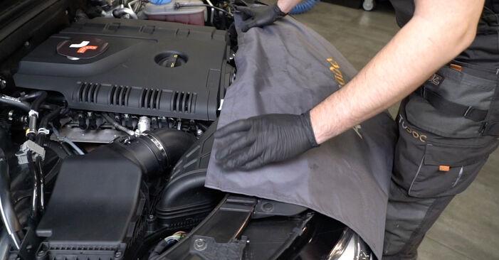 Kaip pakeisti AUDI A4 Sedanas (8K2, B8) 2.0 TDI 2008 Amortizatorius - išsamios instrukcijos ir vaizdo pamokos
