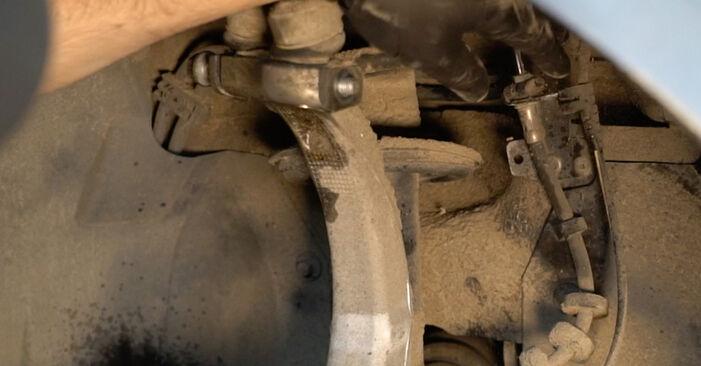 Kiek užtrunka keitimas: Audi A4 B8 Sedanas 2015 Amortizatorius - informatyvi PDF instrukcija