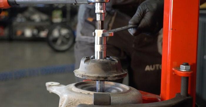 Išsamios Audi A4 B8 Sedanas 2011 S4 3.0 quattro Amortizatorius keitimo rekomendacijos