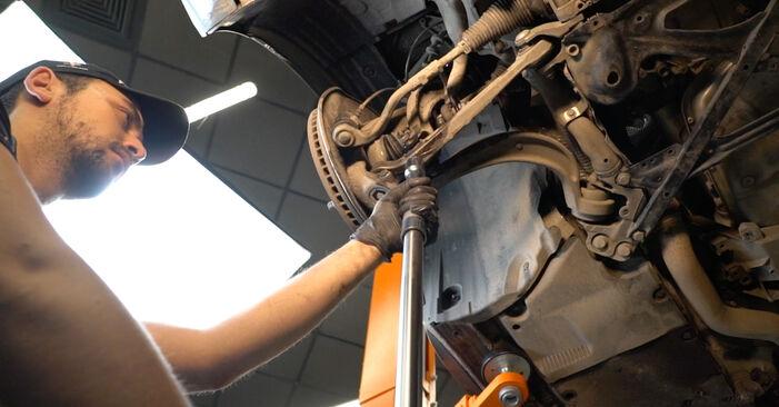 A4 Sedanas (8K2, B8) S4 3.0 quattro 2009 Amortizatorius savarankiško keitimo instrukcija