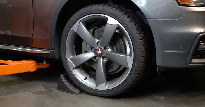 Wie Koppelstange Audi A4 B8 2.0 TDI 2007 tauschen - Kostenlose PDF- und Videoanleitungen