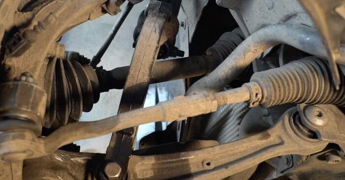 AUDI A4 S4 3.0 quattro Koppelstange ausbauen: Anweisungen und Video-Tutorials online