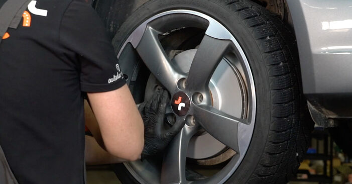 Wechseln Koppelstange am AUDI A4 Limousine (8K2, B8) 3.0 TDI quattro 2010 selber