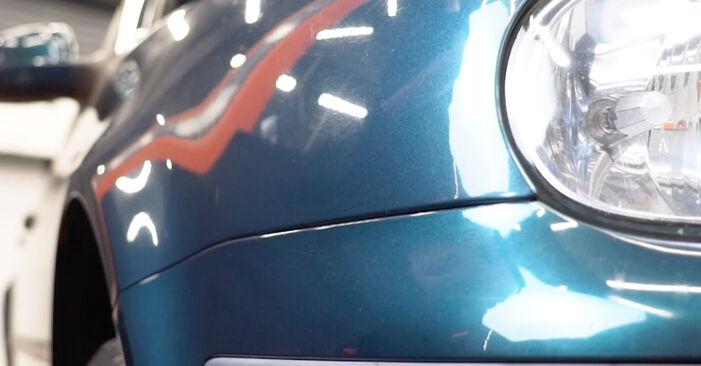 Golf IV Schrägheck (1J1) 1.8 T 1999 1.6 Innenraumfilter - Handbuch zum Wechsel und der Reparatur eigenständig