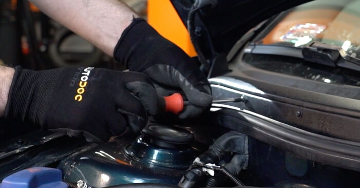 Innenraumfilter Golf 4 1.6 16V 1999 wechseln: Kostenlose Reparaturhandbücher