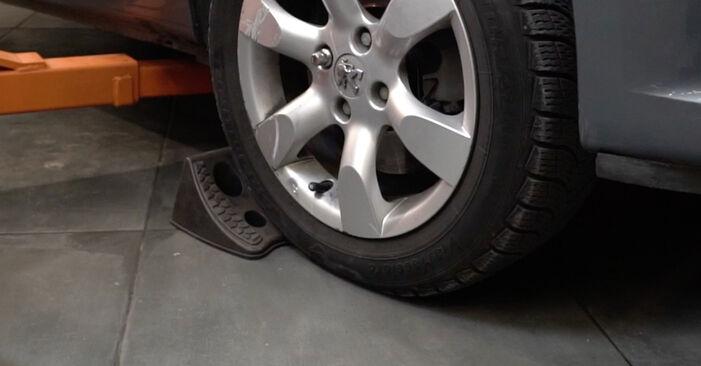 Wie Radlager Peugeot 307 SW 1.6 HDI 110 2002 tauschen - Kostenlose PDF- und Videoanleitungen