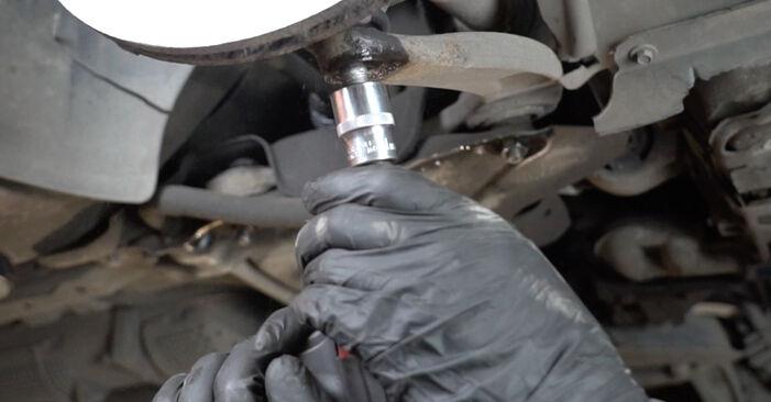 Austauschen Anleitung Radlager am Peugeot 307 SW 2004 1.6 HDI 110 selbst