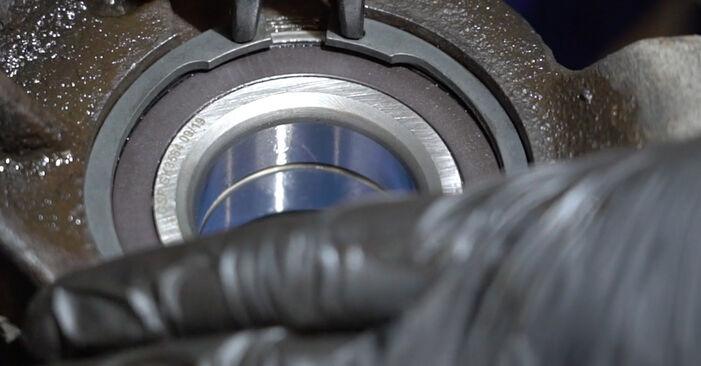 PEUGEOT 307 1.6 HDI 110 Radlager ausbauen: Anweisungen und Video-Tutorials online