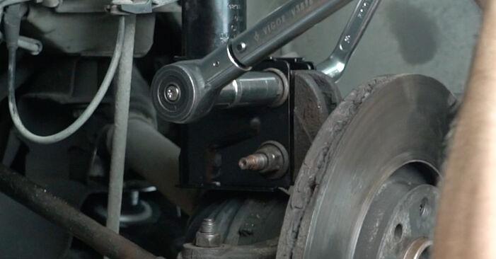307 SW (3H) 2.0 HDi 135 2005 1.6 16V Radlager - Handbuch zum Wechsel und der Reparatur eigenständig