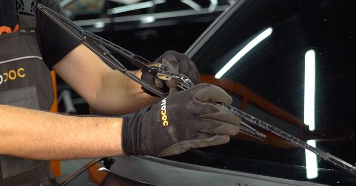 Scheibenwischer Renault Clio 2 1.5 dCi 2000 wechseln: Kostenlose Reparaturhandbücher