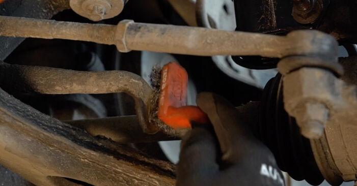 Austauschen Anleitung Koppelstange am Opel Zafira A 2002 2.0 DTI 16V (F75) selbst