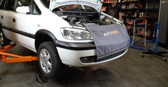 Koppelstange Opel Zafira A 2.2 DTI 16V (F75) 2001 wechseln: Kostenlose Reparaturhandbücher