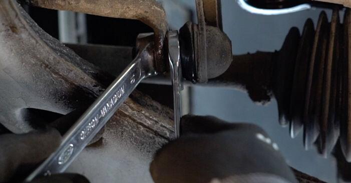 Koppelstange Ihres Opel Zafira A 2.0 DTI 16V (F75) 2000 selbst Wechsel - Gratis Tutorial