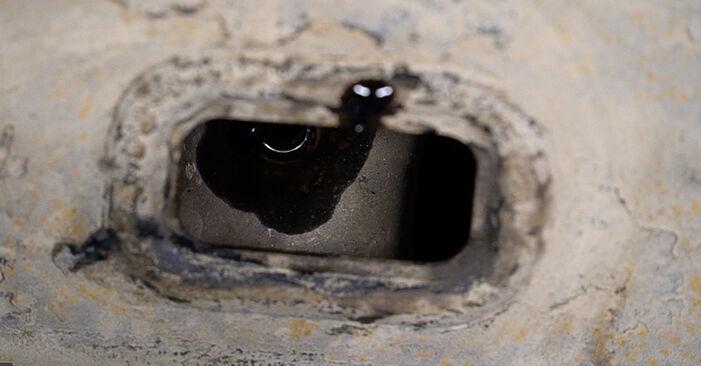 Austauschen Anleitung Ölfilter am Toyota Prado J120 2003 3.0 D-4D selbst