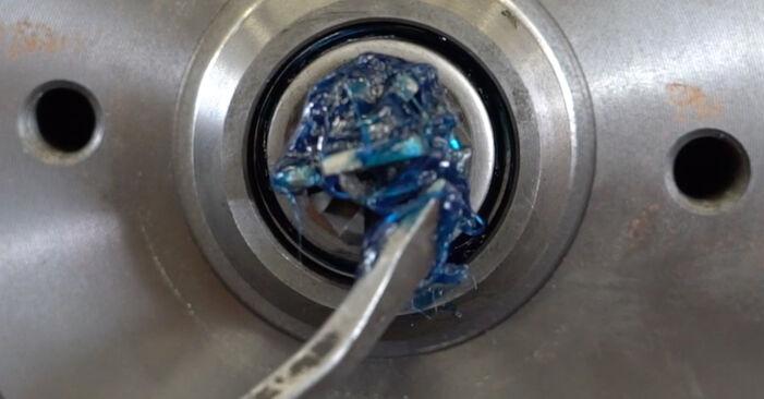 Bremstrommel am VW GOLF III (1H1) 1.9 D 1996 wechseln – Laden Sie sich PDF-Handbücher und Videoanleitungen herunter