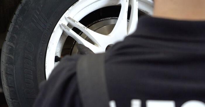 VW GOLF 2.0 Bremstrommel ausbauen: Anweisungen und Video-Tutorials online