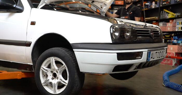 Önálló VW GOLF III (1H1) 1.9 TDI 1994 Kerékcsapágy csere