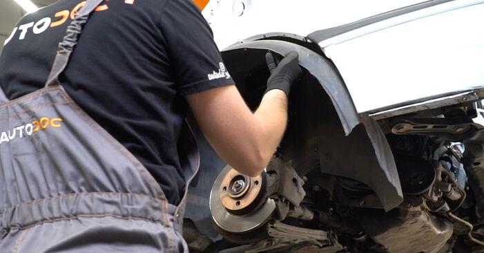 VW GOLF 1998 Courroie Trapézoïdale à Nervures manuel de remplacement étape par étape