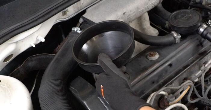 Ölfilter Golf 3 1.8 1993 wechseln: Kostenlose Reparaturhandbücher