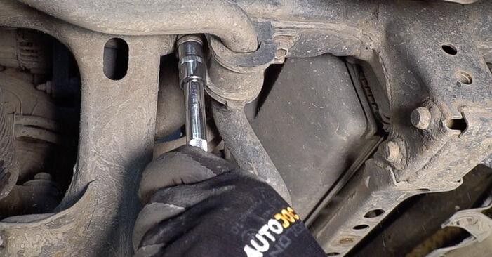 Stoßdämpfer Ihres Toyota Prado J120 3.0 D-4D 2010 selbst Wechsel - Gratis Tutorial