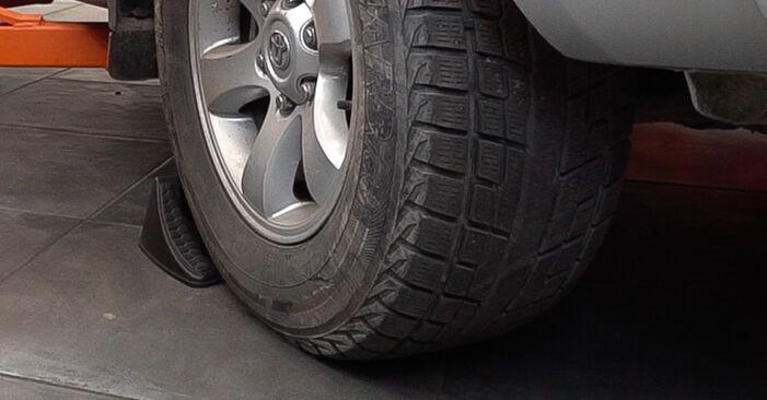 Wie Koppelstange Toyota Prado J120 3.0 D-4D 2002 tauschen - Kostenlose PDF- und Videoanleitungen