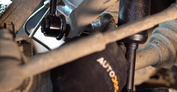 Schritt-für-Schritt-Anleitung zum selbstständigen Wechsel von Toyota Prado J120 2006 3.0 D-4D Koppelstange