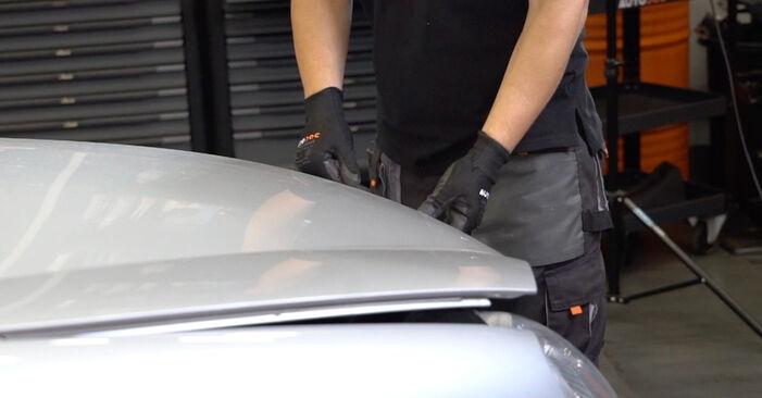 Wie Zündspule VW Golf V Schrägheck (1K1) 1.6 2004 austauschen - Schrittweise Handbücher und Videoanleitungen