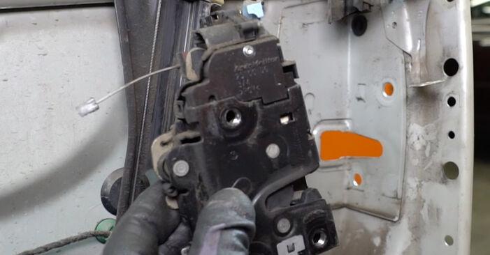 Zweckdienliche Tipps zum Austausch von Türschloß beim VW Golf V Schrägheck (1K1) 2.0 GTI 2003