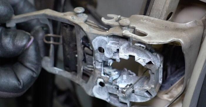 VW GOLF 1.6 Türschloß ausbauen: Anweisungen und Video-Tutorials online