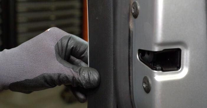 Wechseln Türschloß am VW Golf V Schrägheck (1K1) 1.6 FSI 2006 selber
