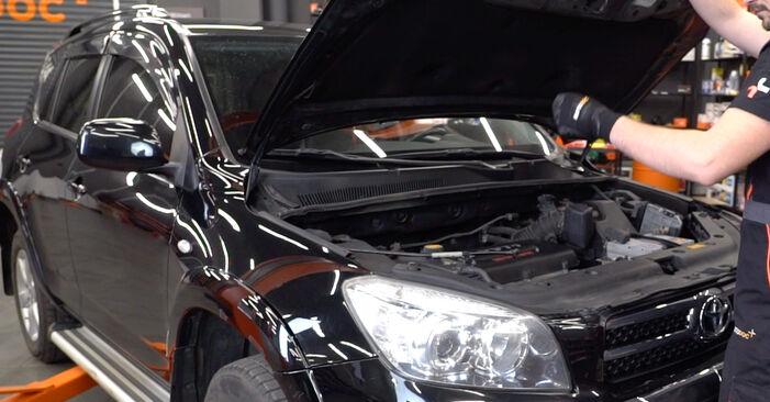 Как се сменя Пружинно окачване на Toyota RAV4 III 2005 - безплатни PDF и видео уроци