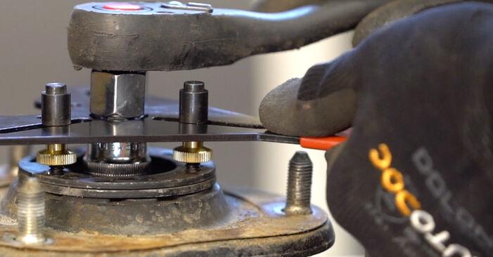 Колко време отнема смяната: Пружинно окачване на Toyota RAV4 III 2013 - информативен PDF наръчник