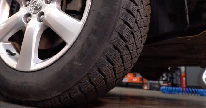 Смяна на TOYOTA RAV4 2.2 D 4WD (ALA30_) Пружинно окачване: онлайн ръководства и видео уроци