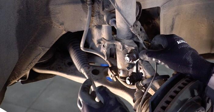 Schritt-für-Schritt-Anleitung zum selbstständigen Wechsel von Toyota RAV4 III 2009 2.0 (ZSA35_) Stoßdämpfer