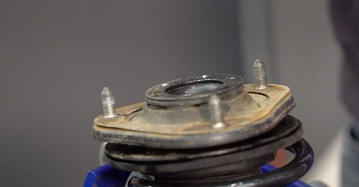 Stoßdämpfer Toyota RAV4 III 2.2 D (ALA35_) 2007 wechseln: Kostenlose Reparaturhandbücher