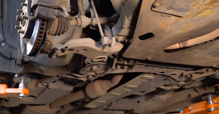 Wie Stoßdämpfer Toyota RAV4 III 2.2 D 4WD (ALA30_) 2005 tauschen - Kostenlose PDF- und Videoanleitungen
