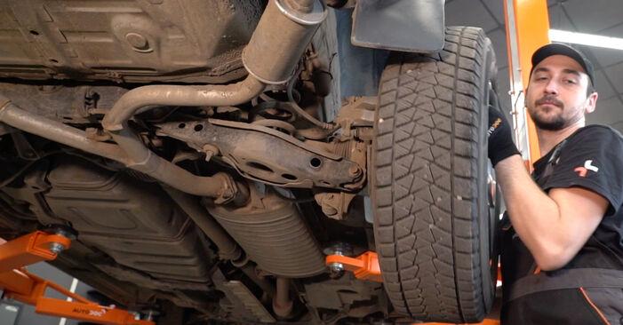 Wechseln Koppelstange am TOYOTA RAV 4 III (ACA3_, ACE_, ALA3_, GSA3_, ZSA3_) 2.0 4WD (ZSA30_) 2008 selber