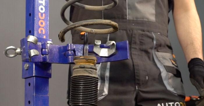 V70 II (285) 2.3 T5 2000 Ressort d'Amortisseur manuel d'atelier pour remplacer soi-même