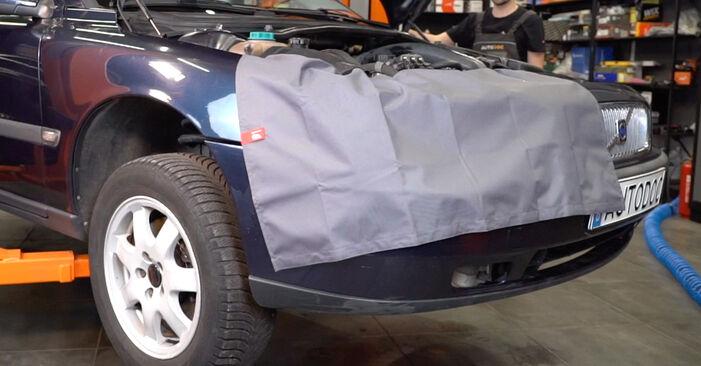 Vanskelighetsgrad: Bytte av Støtdemper på Volvo V70 SW 2.4 D 2005 – last ned illustrert veiledning