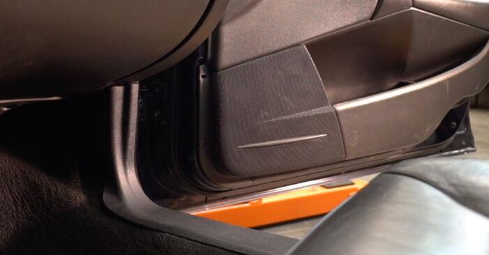 V70 II (285) 2.3 T5 2000 Salona filtrs patstāvīgas nomaiņas remonta rokasgrāmata