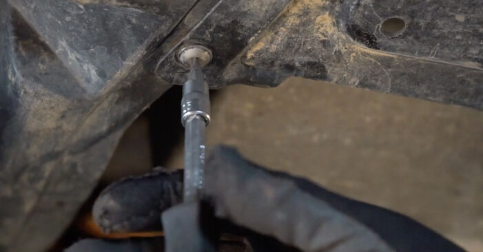 Wechseln Ölfilter am VW Golf IV Schrägheck (1J1) 1.9 TDI 2000 selber