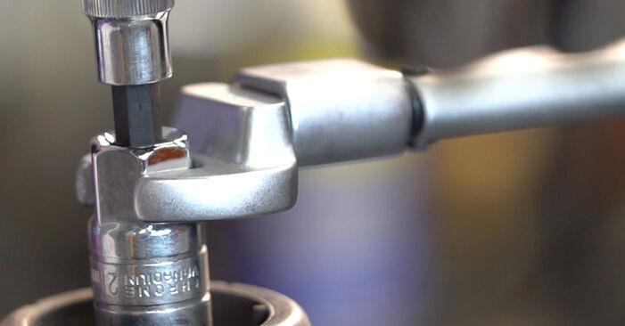 Не е трудно да го направим сами: смяна на Амортисьор на Golf 4 1.4 16V 2003 - свали илюстрирано ръководство