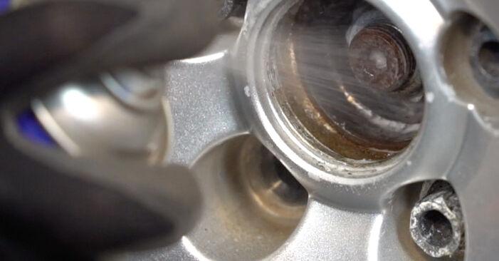 Смяна на Golf 4 1.6 1999 Амортисьор: безплатни наръчници за ремонт