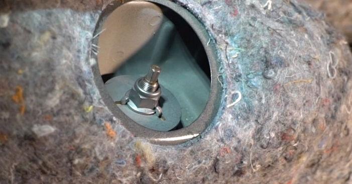 Trinn-for-trinn anbefalinger for hvordan du kan bytte BMW E92 2009 325i 2.5 Støtdemper selv