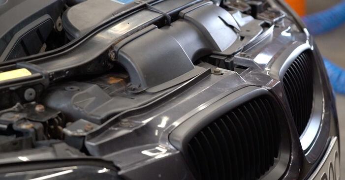 BMW 3 SERIES 335i 3.0 Federn ausbauen: Anweisungen und Video-Tutorials online
