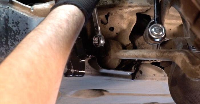 Kako težko to naredite sami: Blazilnik zamenjava na BMW E92 320i 2.0 2011 - prenesite slikovni vodnik